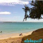 aloha quilt から感謝の言葉