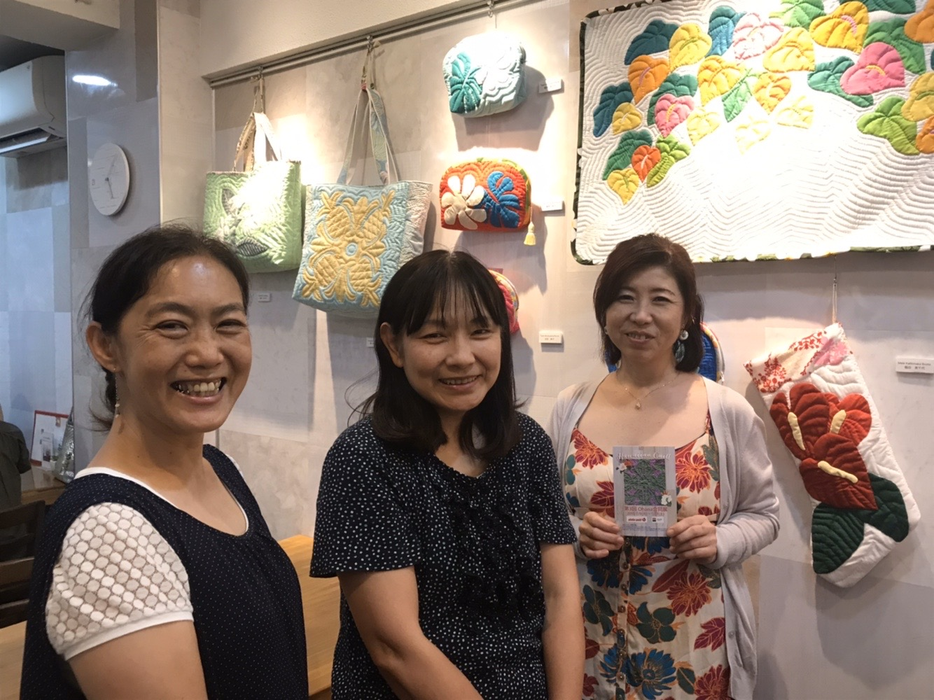 2019年aloha quilt with Ohana 合同展